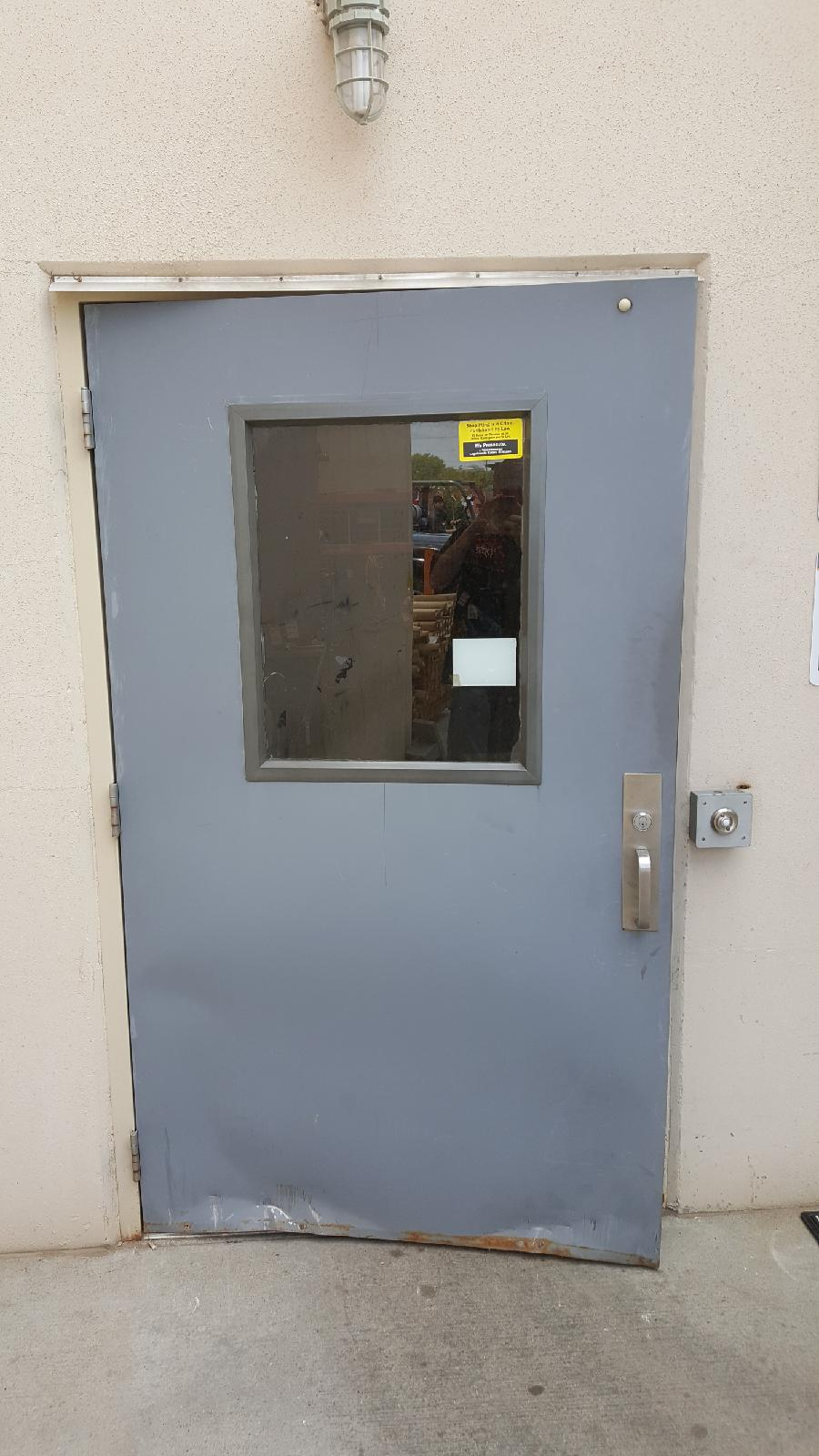Commercial Door Installation At Home Depot In Amarillo